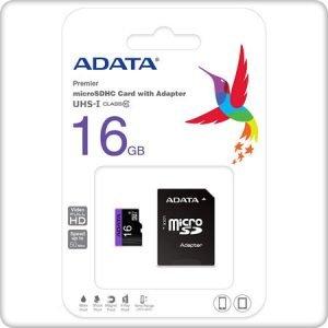 microSDHC Card ADATA 16GB